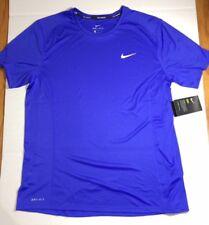 Nike Dri-Fit Miler Short Sleeve Men's Running Shirts - 872021 442 NWT SIZE M