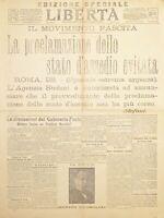 Quotidiano Politico Agricolo e Commerciale Piacenza - Libertà N. 259 - 1922