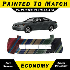 NEW Painted To Match - Front Bumper Cover for 2008-2010 Honda Accord Sedan 4 Cyl