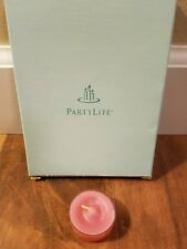 Partylite - 12 Tealights - Strawberry Fields - New in Box