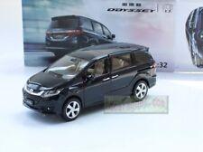 1/32 Honda Odyssey MPV dark blue pull back car Toy Metal Diecast Sound&Light