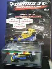 1/43 March 761 Ronnie Peterson #10 1976 + N 160 Formula 1 Auto Collection F1