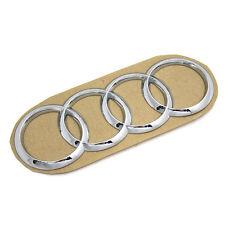 Original Audi-Zeichen A3 Q2 TT R8 Heck/Front Emblem Audi Ringe Logo chrom OEM