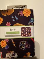 Licensed Disney Pixar Coco Fabric By The Yard Skeleton Skull Toss Fabric
