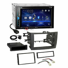 Pioneer DVD Camera Input Stereo Grey Dash Kit Harness for 09-13 Toyota Corolla