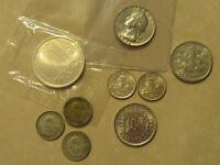 World silver lot nice group of coins U.S. Finland  Israel and more trading