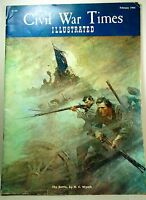 Civil War Time Illustrated, February 1966, The Battle, by N.C.Wyeth