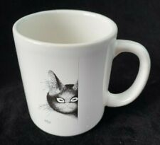 New listing Dubout Cat Ceramic Mug 2001 Editions Clouet France