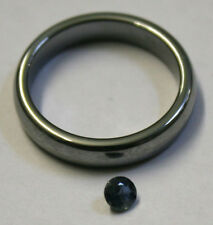 NATURAL BLUE SAPPHIRE LOOSE GEMSTONE 4MM ROUND 0.4CT FACETED GEM SA69A