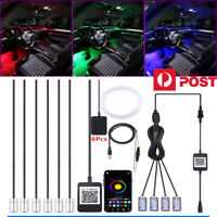 Wireless NO Threading Ambient Light Car Atmosphere Light Foot lamp APP Control