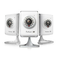 Funlux 3Pack 720p IP Network Indoor Wireless Two-Way Audio WiFi Security Camera