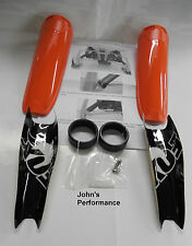 Arctic Cat Snowmobile Fox Float Airshox Air Shock Guards Orange 6639-082