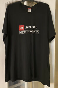 The North Face Liverpool T-shirt Black Size XL