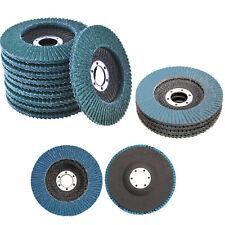 115mm/125mm OD Flap Sanding Disc 40~120 Grit  Grinding Wheel Zirconium Oxide