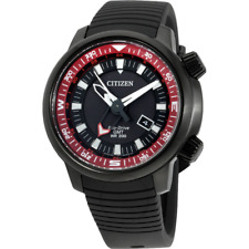 Citizen Eco-drive GMT divers 200m Bj7085-09e Mens Watch