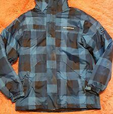 Weatherproof Xl 14-16 Softshell Jacket Hood Heavy Blue Front Zip Insulated Coat