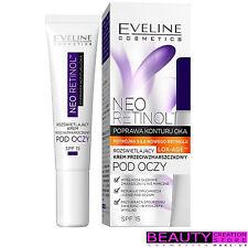 Eveline Neo Retinol bajo Crema de Ojos Arrugas Profundas Anti Envejecimiento 15ml EV111