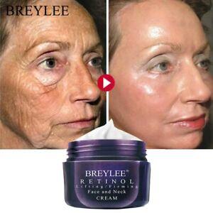 BREYLEE Retinol Firming Face Cream Lifting Neck Anti-Aging Removing Wrinkle