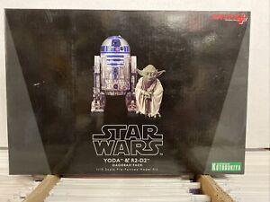 Kotobukiya Star Wars Yoda & R2-D2 Dagobah Pack 1/10 Scale Artfx+ 3 Figure Set