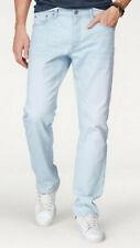 John Devin JD Jeans W40 L36 HellBlau Bleached Used Regular Denim Baumwolle Neu