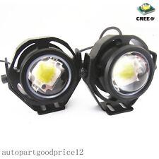 2Pcs White 6000K 10W CREE U2 LED Work Light Car SUV Daytime Running Fog Lamp DRL