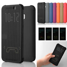 Ultrasottile Smart Dot View Flip Case Cover per HTC One 2 M8 M9 Plus Ufficiale