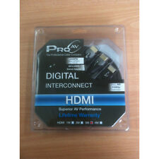 PRO AV DIGITAL INTERCONNECT HDMI CABLE 3 METER INCLUDES SWIVEL ADAPTER