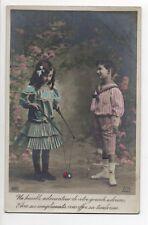 LE DIABOLO ancien jeu - Old Game vintage THE DIABOLO - jeune garçon fillette 1