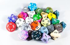 Quarter (1/4) Pound of Dice RPG Chessex Game Dice d4, d6, d8, d12, d20 Rare Dice