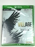 Brand New & Sealed Resident Evil VIII 8 Village Deluxe Edition for Xbox Series X