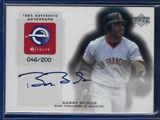 Barry Bonds 2001 Upper Deck eVOLVE Signature SP /200 On-Card AUTOgraph SF Giants