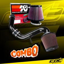 For 99-03 Mitsubishi Galant 3.0L V6 Black Cold Air Intake + K&N Air Filter