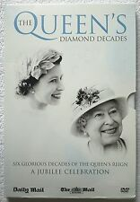6 x The Queen Diamond Decades 6 Glorious Decades Of The Queen's Reign DVDs