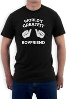 World's Greatest Boyfriend T-Shirt Gift For Valentine's Day Matching Couple Top