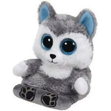 Ty Peek-A-Boo Phone Holder with Screen Cleaner Bottom Scout The Husky    (New )
