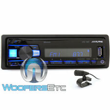ALPINE UTE-73BT DIGITAL MEDIA RECEIVER BLUETOOTH USB AUX MP3 iPHONE ANDROID NEW