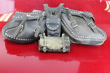 96 KAWASAKI VULCAN 1500  SADDLE BAG AND FRONT BAG 3 PIECE