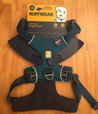 "Ruffwear Front Range Dog Harness Tumalo Teal Medium Reflective Padded 27-32"""