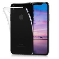 Crystal Case für Apple iPhone X Transparent TPU Silikon Schutz Hülle Cover DE