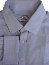 Charles Tyrwhitt Camisa Para Hombres 17 L Azul – amarillo Compruebe