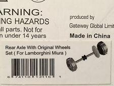 AutoArt 13116 1:32 Lamborghini Miura Rear Axle with Original Wheels Set Slotcar
