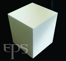 "High Density Styrofoam Block 12"" x 12"" x 12"" EPS Polystyrene Craft 2 lb Foam"