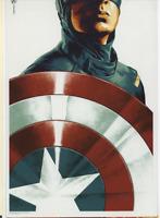 MONDO POSTER CAPTAIN AMERICA MARVEL ART SHOW CARD 4 X 6 PROMO POST CARD PRINT