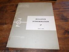 1965.Expéditions polaires françaises.Bulletin N°17.Paul Emile Victor.