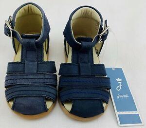 NWT New Jacadi Blue Sandals Size 3 (19 EU) FREE SHIPPING