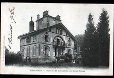 ESSONNES (91) VILLA de l'ECRIVAIN BERNARDIN de SAINT-PIERRE animée en 1903