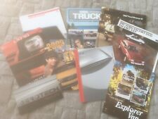 AMERICAN CAR TRUCK SUV. BROCHURES X 9.  VARIOUS MAKES.