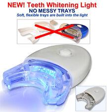 NEW LED BLUE LIGHT ACCELERATOR WHITE LIGHT Teeth Whitening @ No Mess -FREE SHIP!