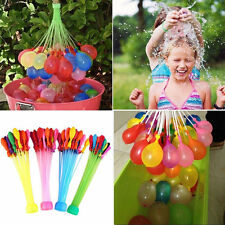 111 Fast Fill Magic Water Balloons Self Tying Bunch Bombs Summer activity fun