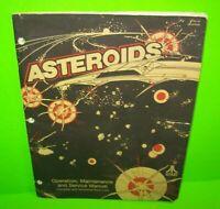 Asteroids ORIGINAL Atari Video Arcade Game Machine Service Manual 1979 FAIR/POOR